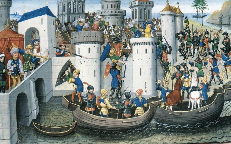 Kreuzfahrer Konstantinopel