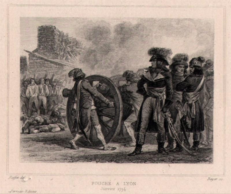 Exekution mit Kanonen